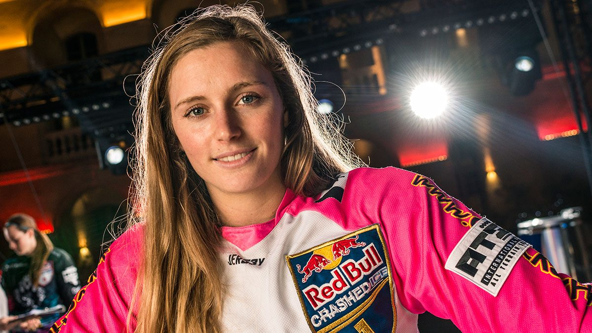 Jacqueline Legere, red bull crashed ice