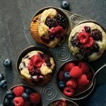 These Triple-Berry Cornmeal Muffins Make On-The-Go Mornings Easy