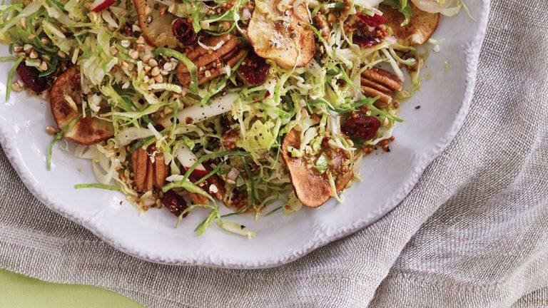Salad, sunchokes