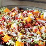 Take Your Salad to the Next-Level With Roasted Winter Squash & Lentils