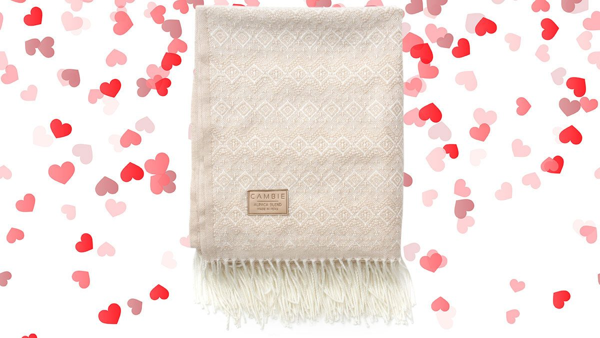 Valentines Day, Cambie blanket