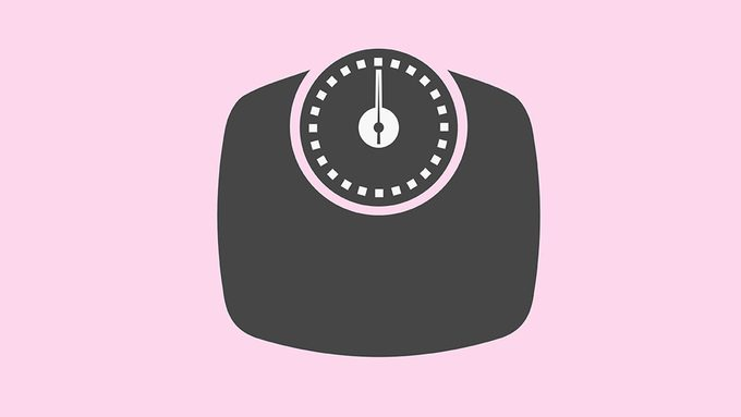 Weight loss, scale