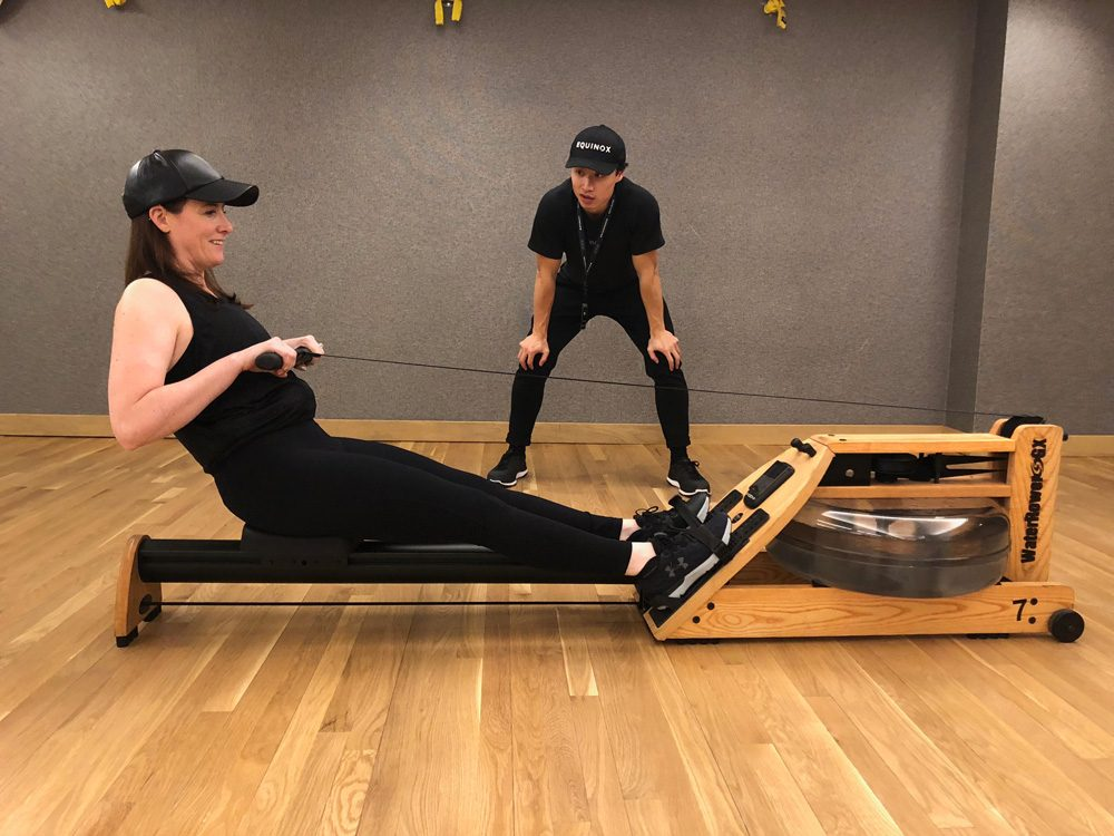 abs strength workout rowing
