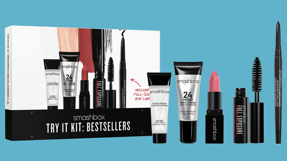 beauty gym kits smashbox Try It Bestsellers kit