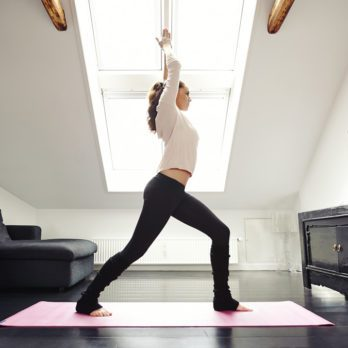 Stay Motivated To Practice Yoga At Home With This Insider Trick
