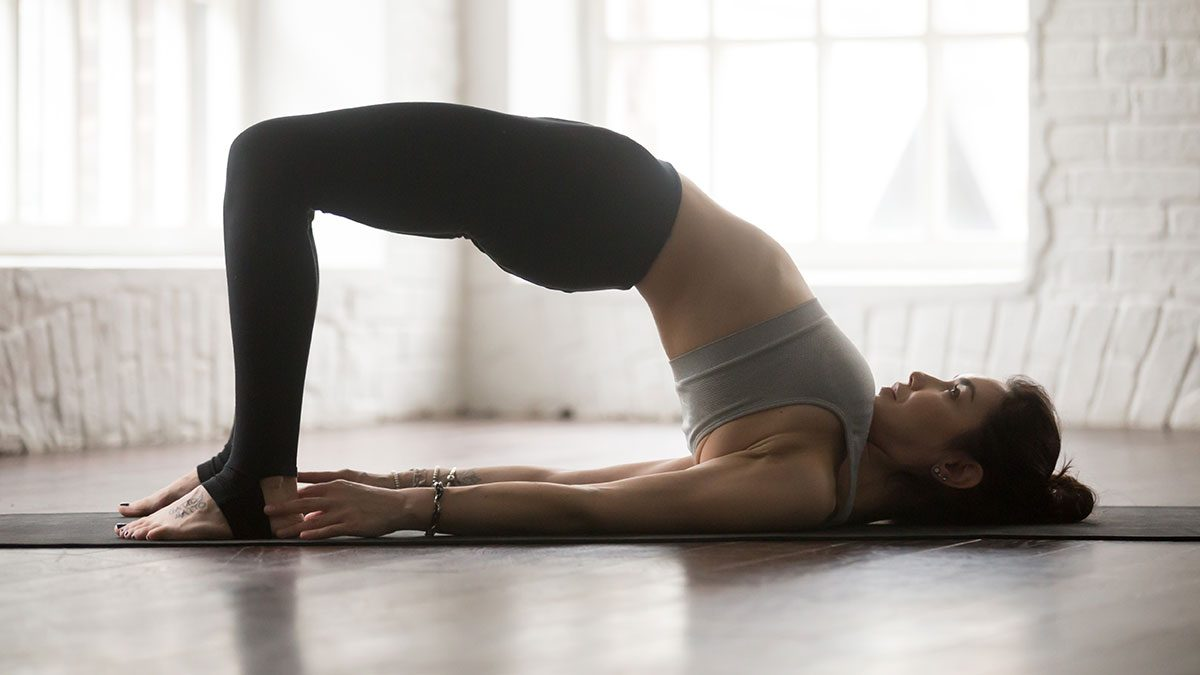 Yoga for Weight Loss, bridge pose