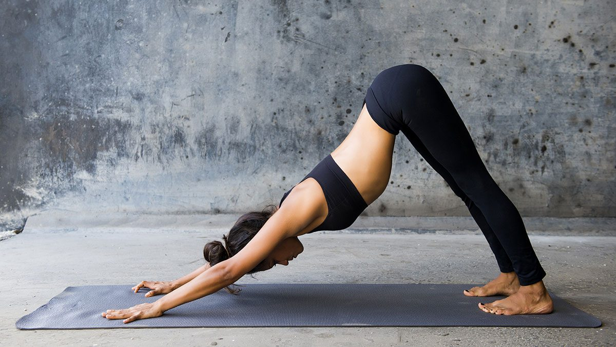 Yoga for Weight Loss, Downward Dog