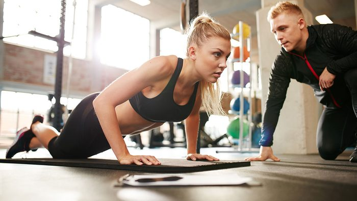 Fitness Tips, woman and her instructor
