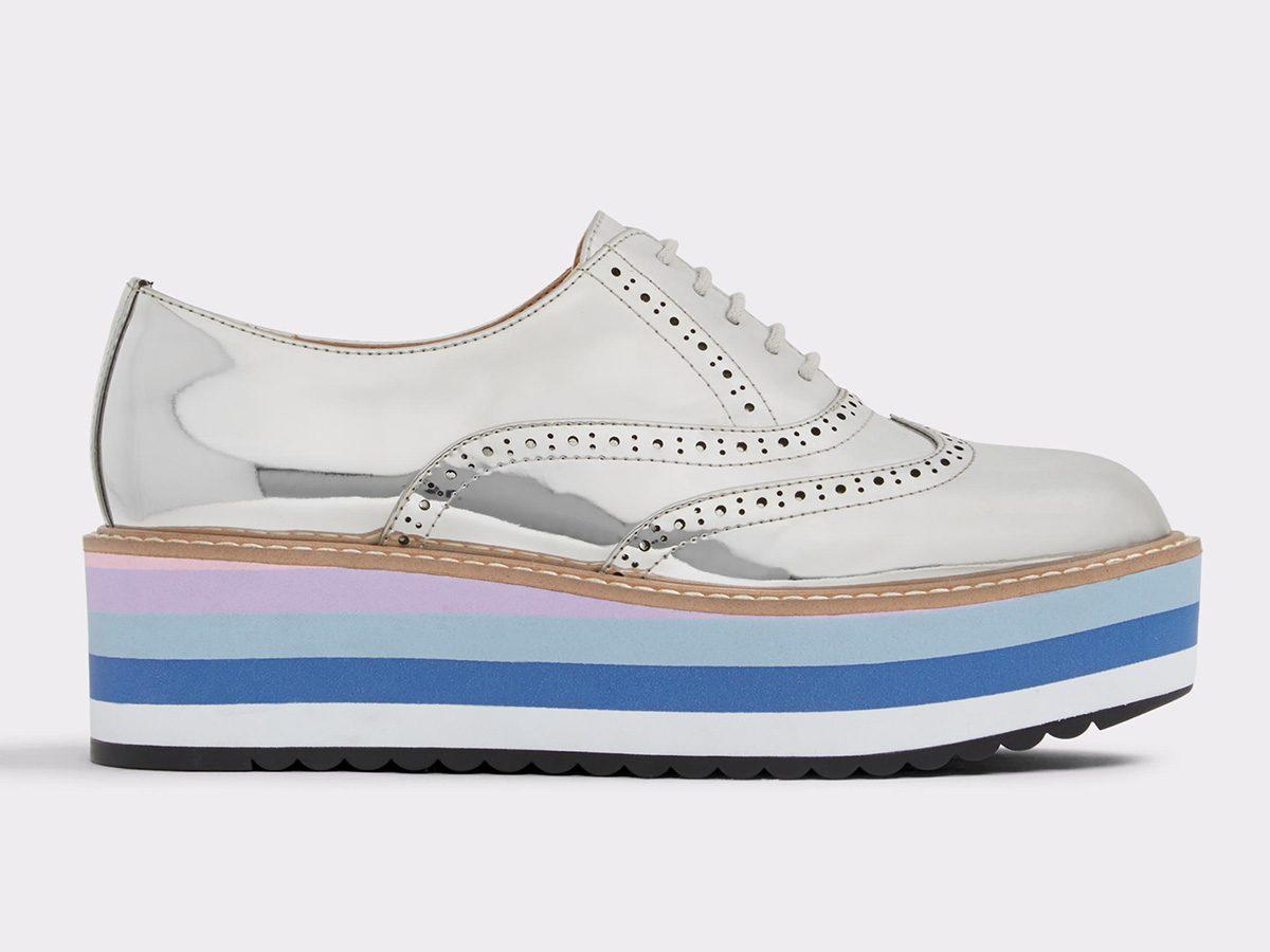 Spring shoes, Aldo flatform brogues
