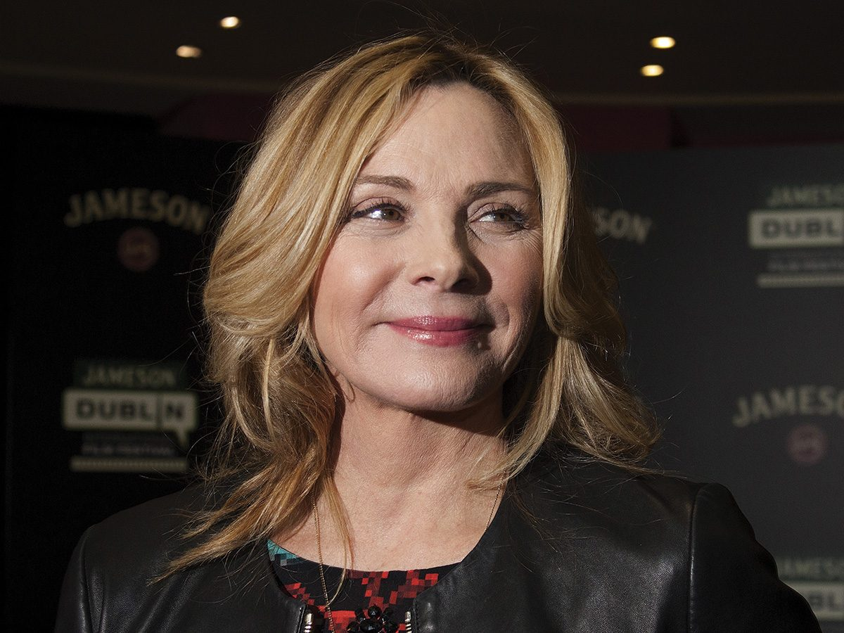 Kim Cattrall and her youthful face