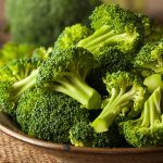 Healthy foods, a bowl of broccoli
