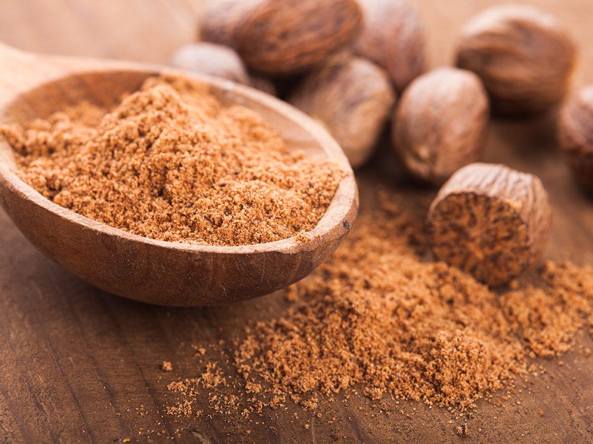 Healthy foods, nutmeg