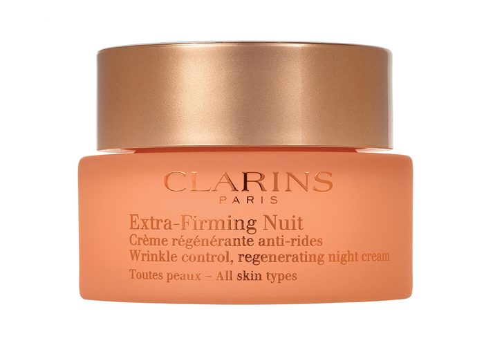 Skin care routine, Clarins Extra-Firming Nuit