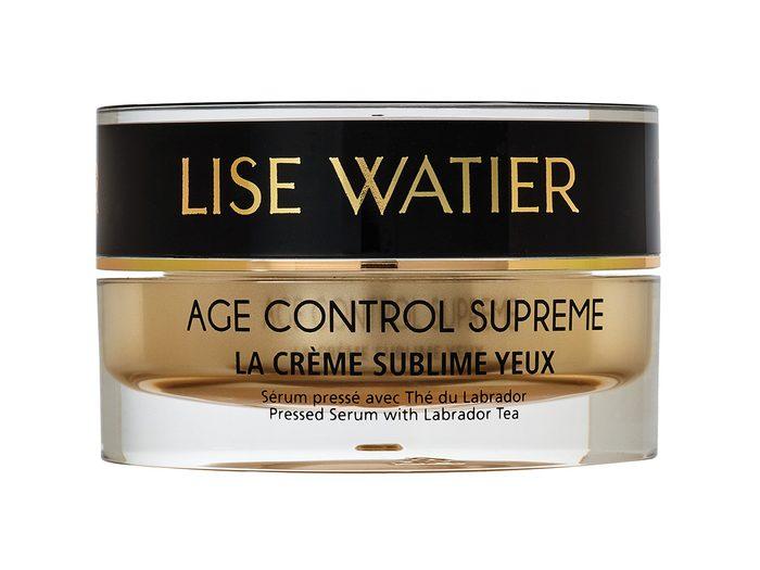 Skin care routine, Lise Water Age Control Supreme La Crème Sublime Yeux