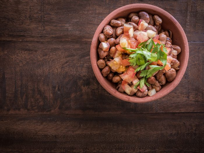 Superfoods, bowl of fava beans