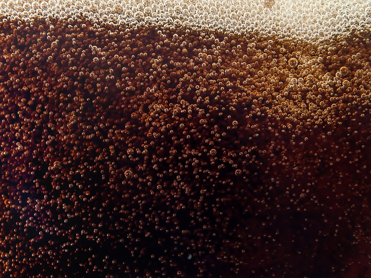 Zero calorie foods, close-up of fat free diet soda