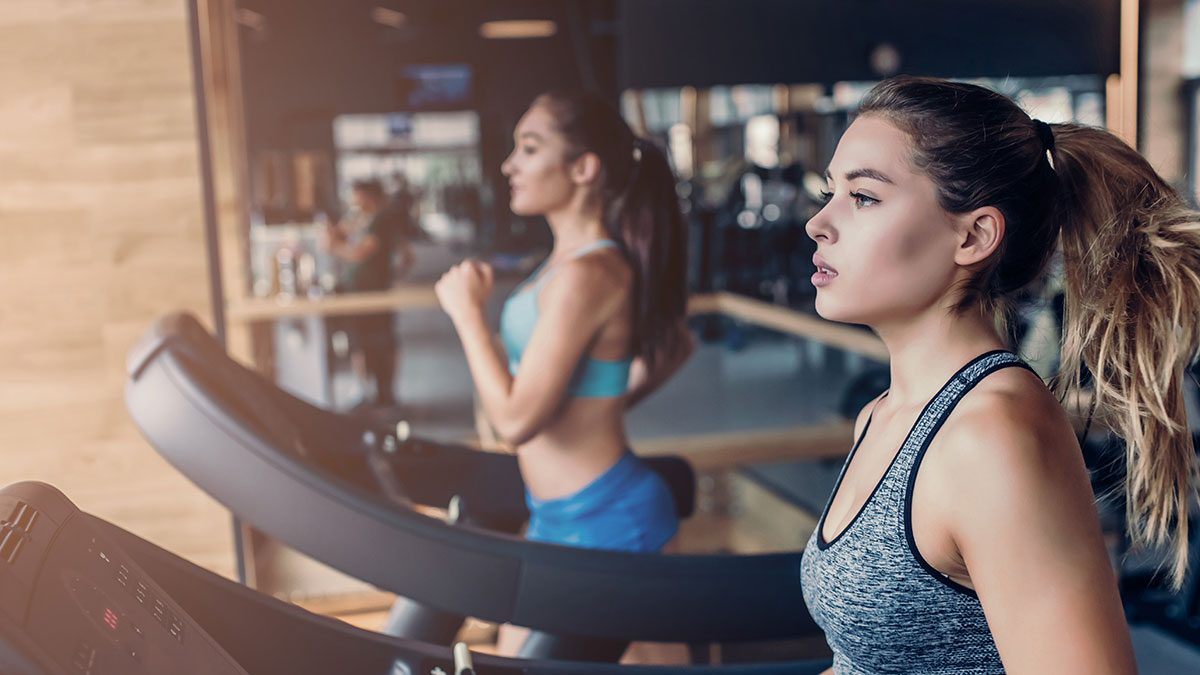 Best Fitness Studios, women on tredmill