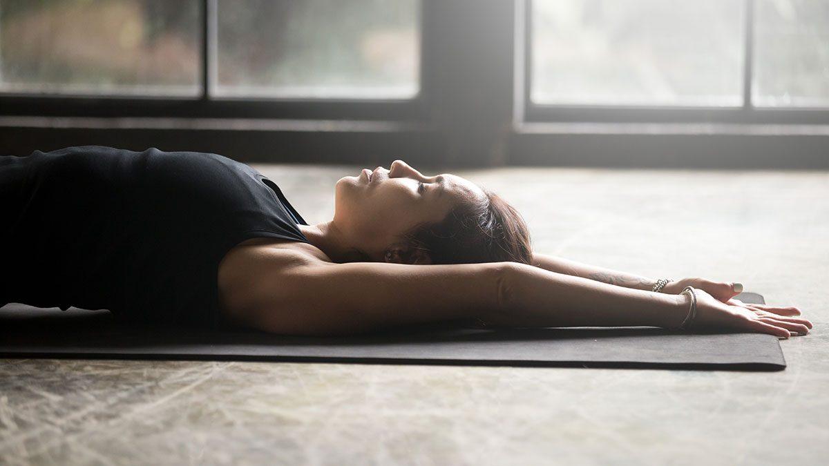 Best Fitness Studios, woman doing yoga