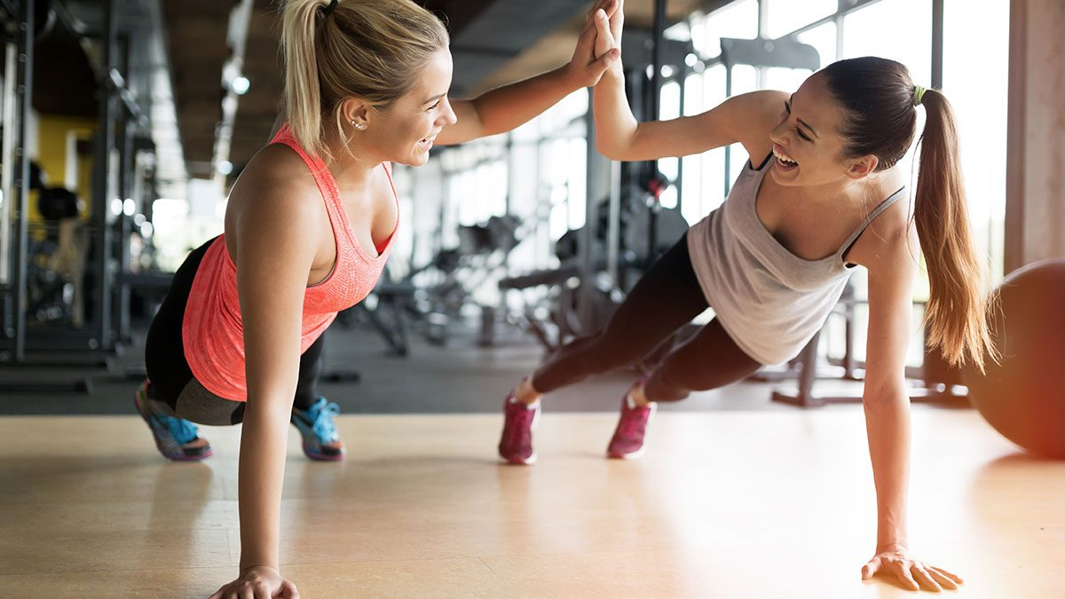 Best Fitness Studios, women at gym