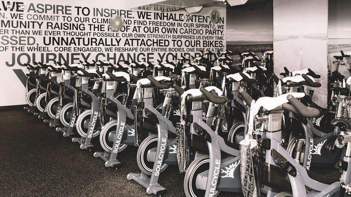 Best Fitness Studios, spin bikes