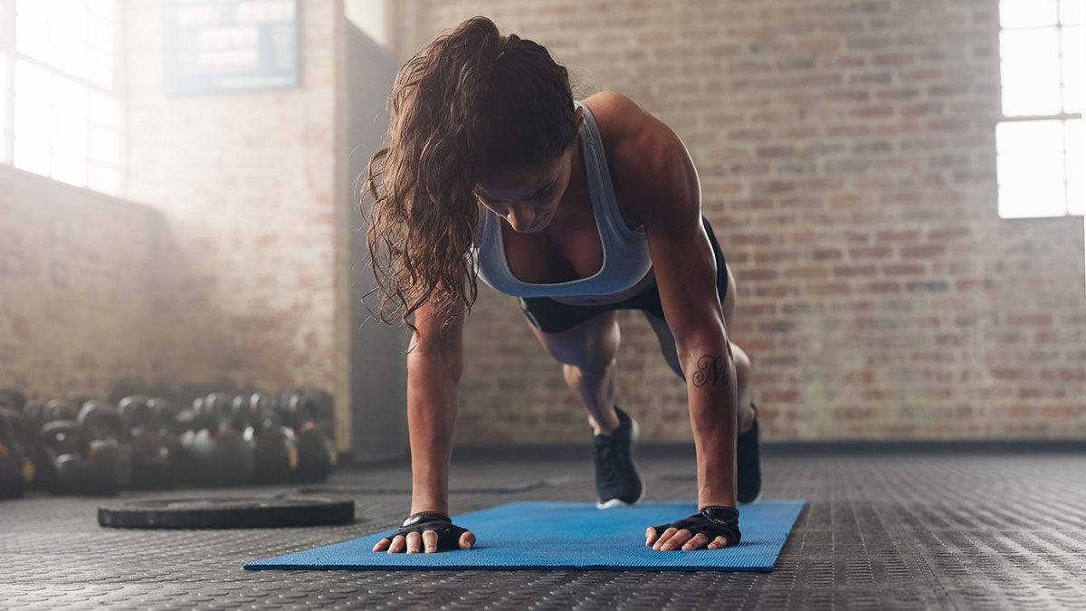 Best Fitness Studies, woman working out