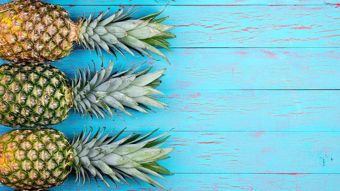 Detox, pineapple