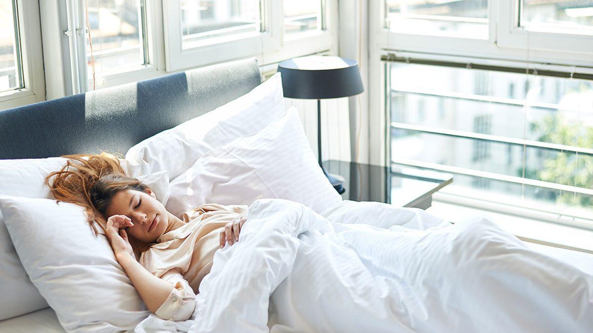 Heart Disease, woman in bed