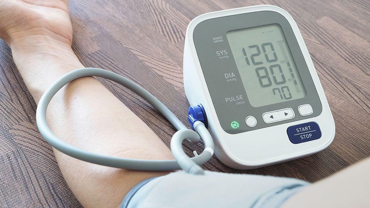 Heart Disease, getting blood pressure taken