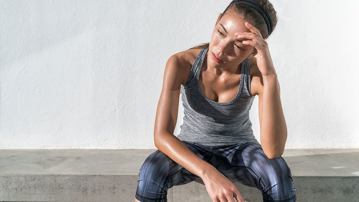 Heart Disease, woman doing exercise