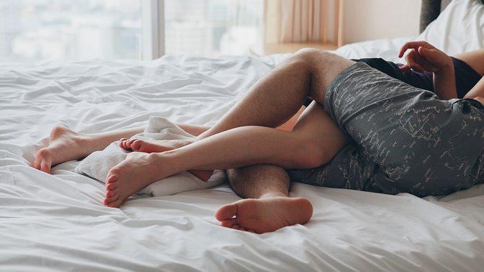 Heart Disease, couple in bed