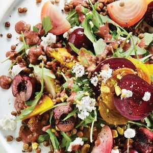 This Beet, Cherry & Lentil Salad Will Forever Change How You Feel About Pulses
