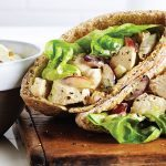 How Do You Make The Ultimate Pita Sandwich? Curried Chicken and Grapes