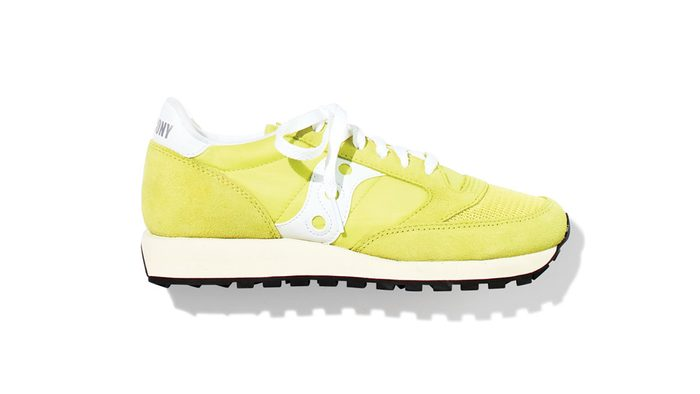 Yogalates, Saucony shoes