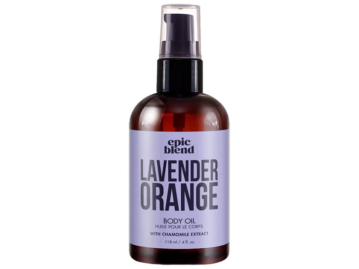 Earth Day tips, Epic Blend Lavender Orange Body Oil