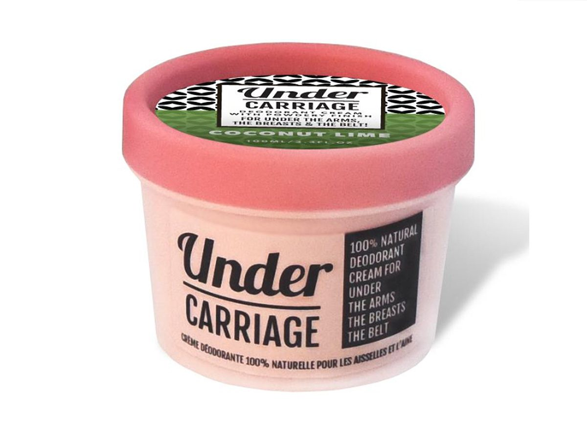 Earth Day tips, under carriage natural deodorant
