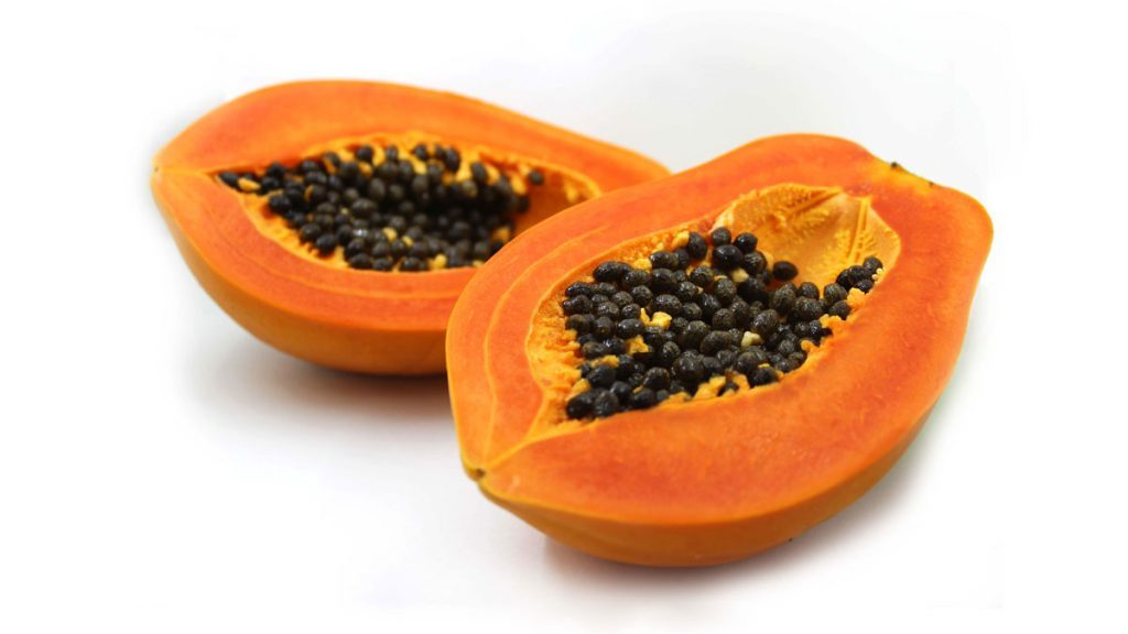 healing foods papaya