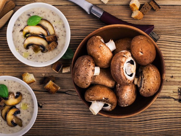 mushroom nutrition health benefits of mushrooms