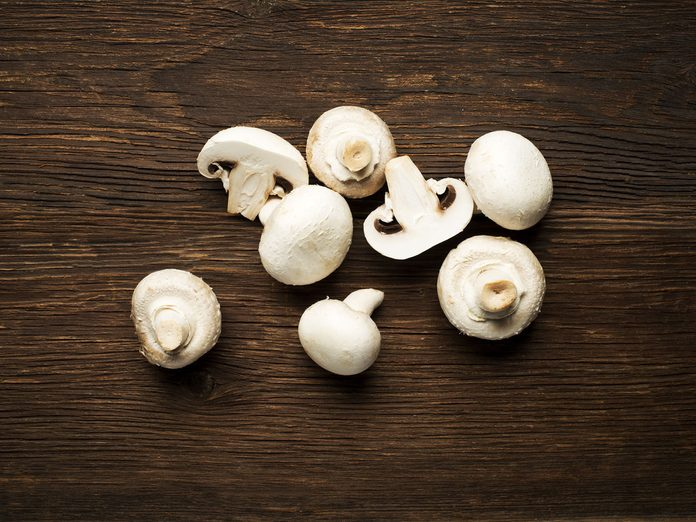 mushroom nutrition benfits