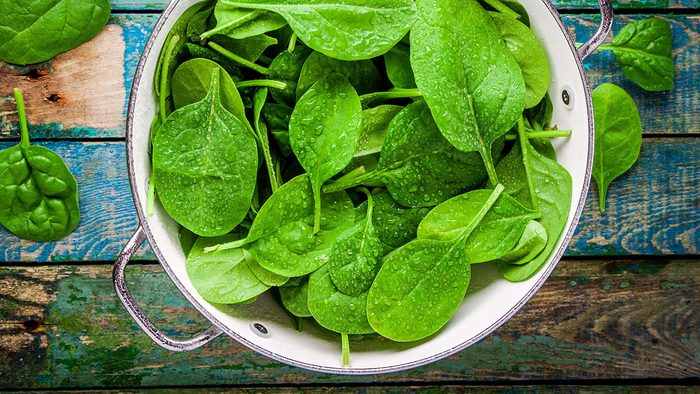 Benefits of Magnesium, spinach