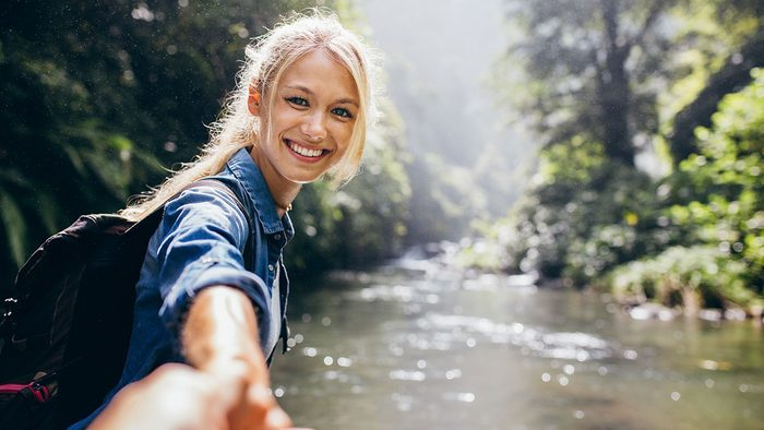 Benefits of Magnesium, woman outdoors