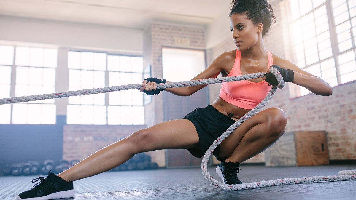 Best Workout, woman exercising