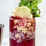 Beet Caesar cocktail recipe