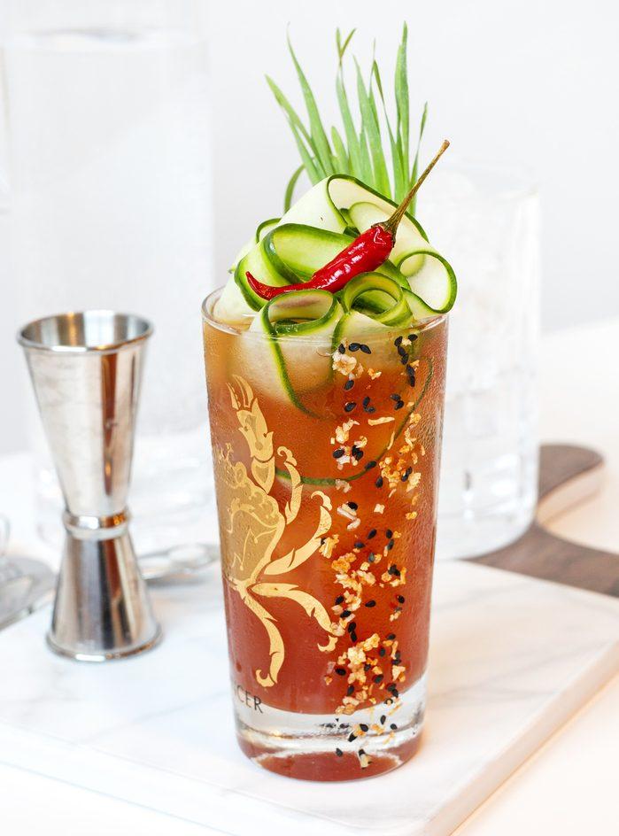 Thai Caesar cocktail recipe