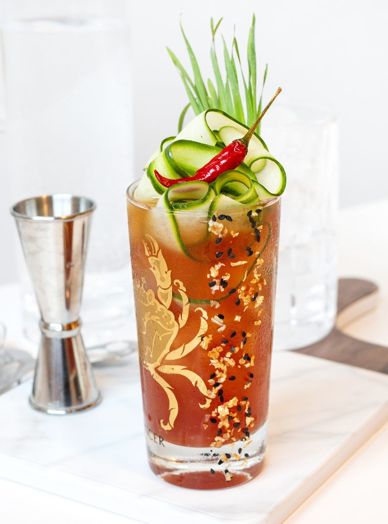 Thai Caesar cocktail recipe