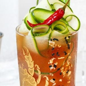 This Tangy Thai Caesar Cocktail Will Put You In The Mood for Summer