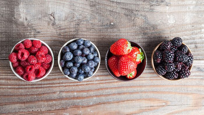 How Sugar Affects Sleep, berries