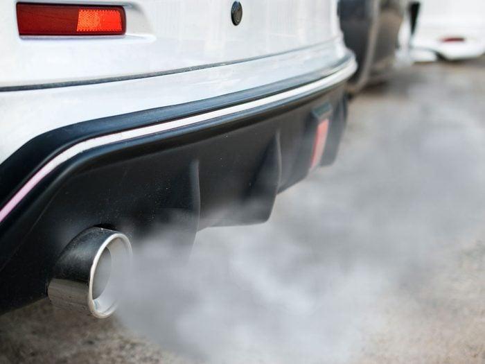 air pollution in Canada | car