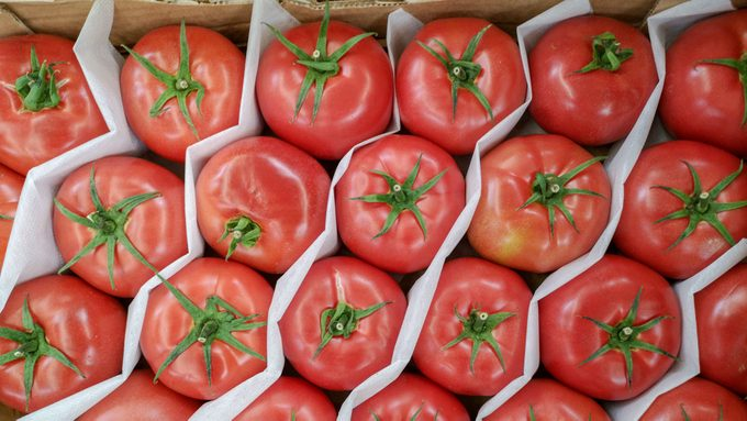 food waste in Canada tomatoes