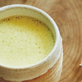 Sip Away Stress with this Soothing Turmeric Latte