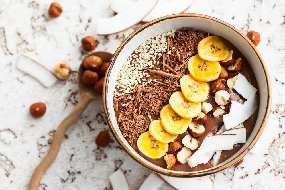 cocao smoothie bowl